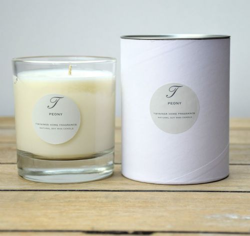 Peony Single Wick Candle